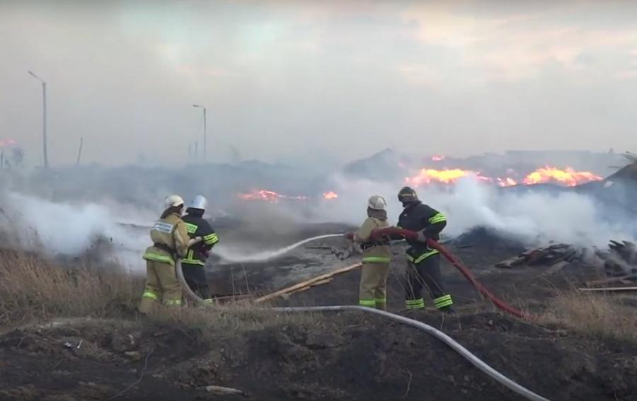 ВКанске пожарные тушили пилораму неменее 16 часов