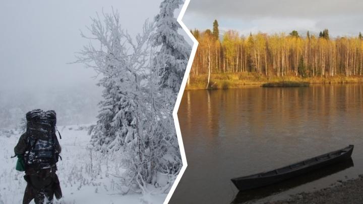 По снегу и по свежим следам медведей: фотоподборка с экспедиции по Вишерскому заповеднику