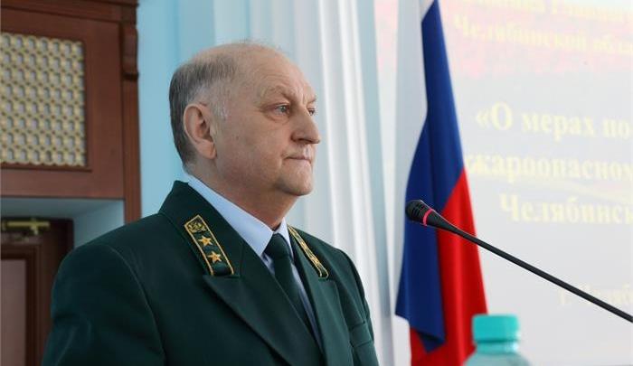 «Желаем здоровья»: Дубровский принял отставку начальника управления лесами Челябинской области