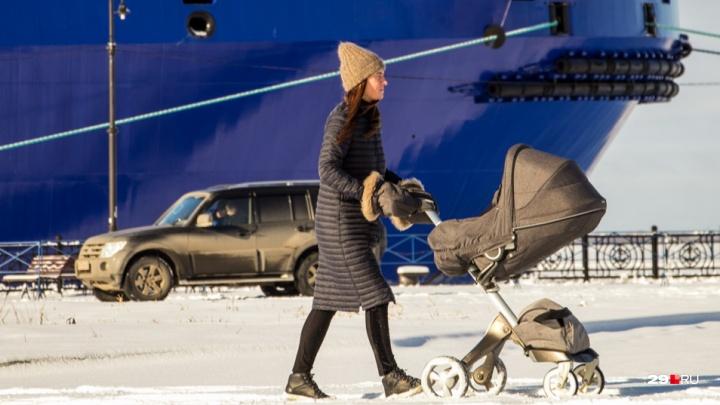 12 тысяч рублей за первенца: кто может получить ежемесячную выплату в Архангельской области