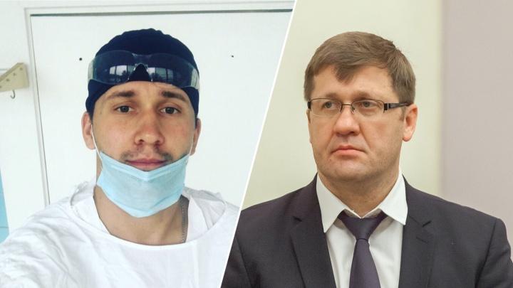 С 14 до 40 тысяч рублей: глава Минздрава пообещал тольяттинскому ортопеду повысить зарплату