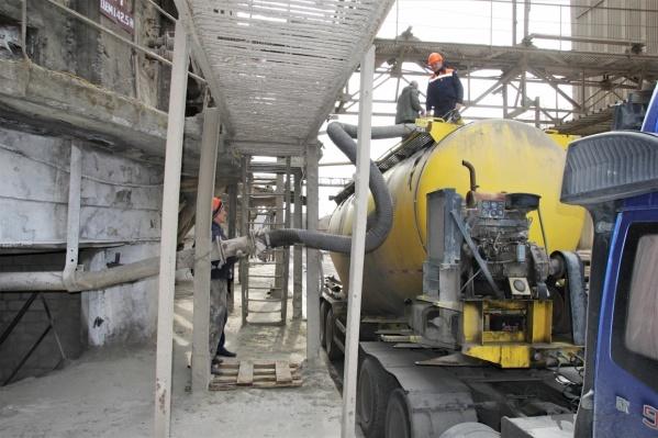 Предприятие «Оливин» в Копейске производит битумные смеси