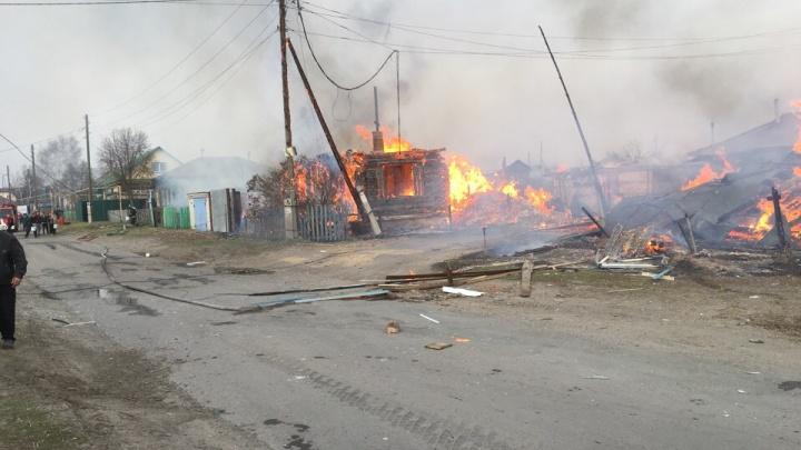 В частном доме поселка Смолино взорвался газовый баллон