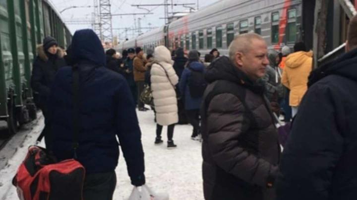 На станции Пермь II из-за угрозы взрыва эвакуировали пассажиров