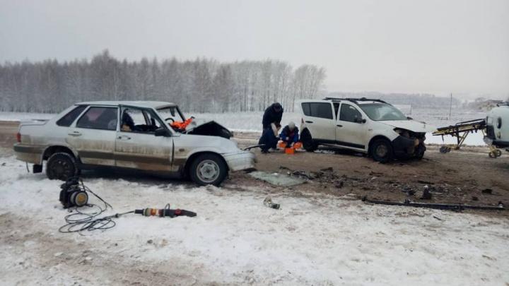 Десять человек за два дня: в ДТП на трассе в Башкирии погибла супружеская пара
