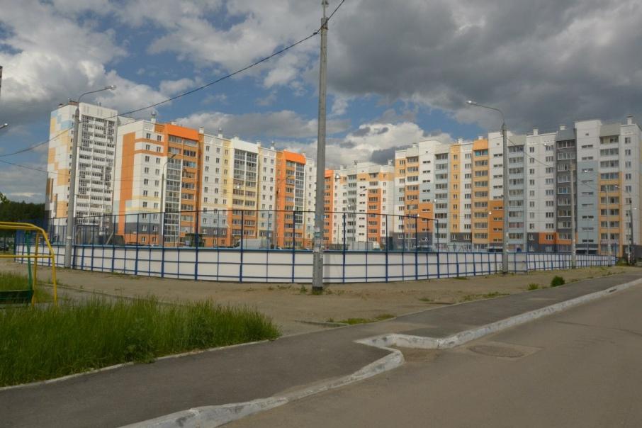 В новую школу смогут попасть дети из районов № 50, 55, 52, 49 в «Парковом»
