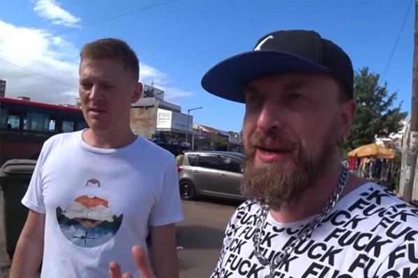 Команда путешественников снимала в Мозамбике видео
