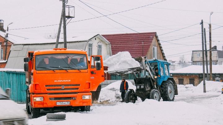 На сайте мэрии начали публиковать графики проверки территорий, которые должны очистить от снега