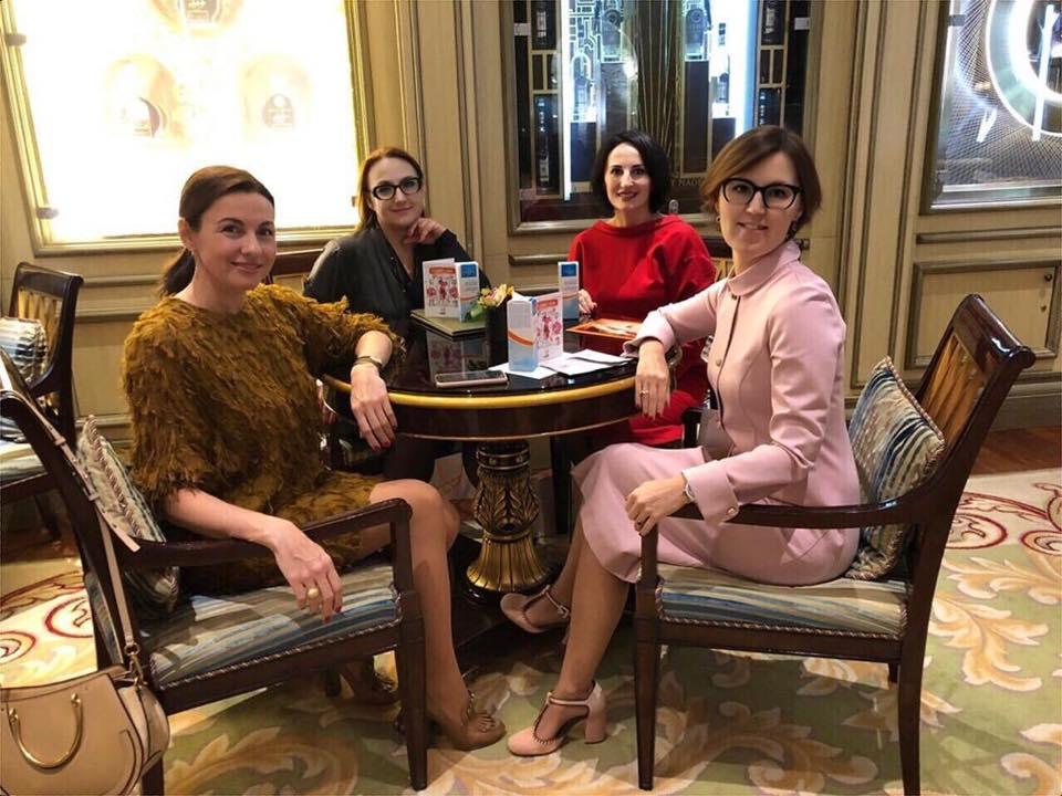 В октябре 2018 года Франгулова побывала на66-м Всемирном конгрессе женщин-предпринимателей в Москве