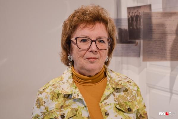 Профессор кафедры ботаники и генетики растений ПГНИУЛидия Переведенцева