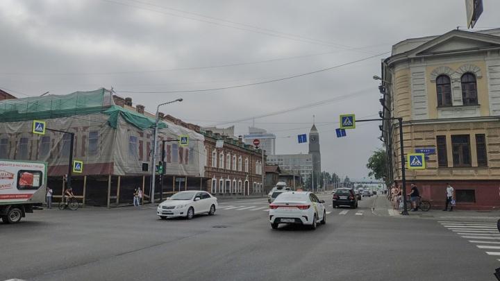 Красноярск снова затянуло дымом от пожаров