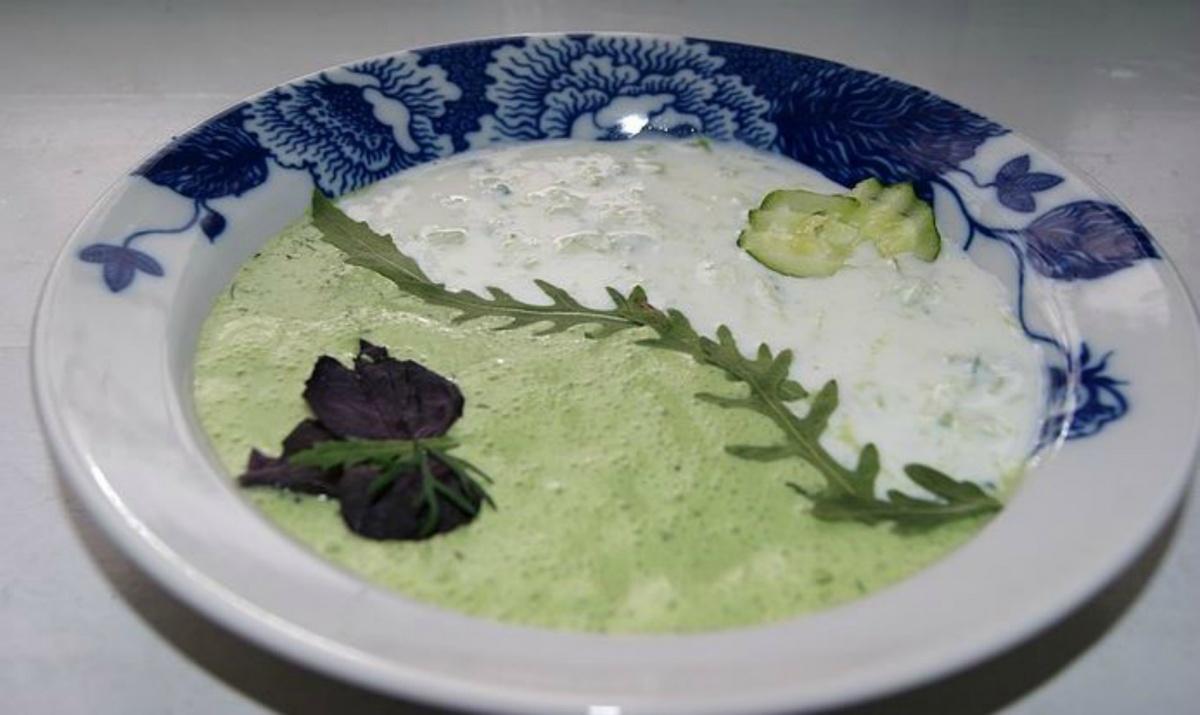 Подавайте суп красиво!
