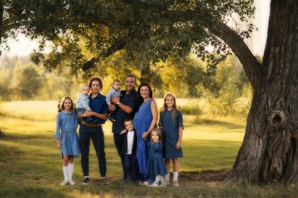 История красноярской семьи с 8 детьми