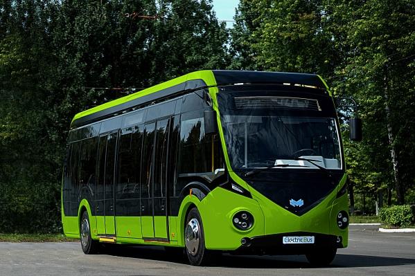 Такой автобус требует подзарядки