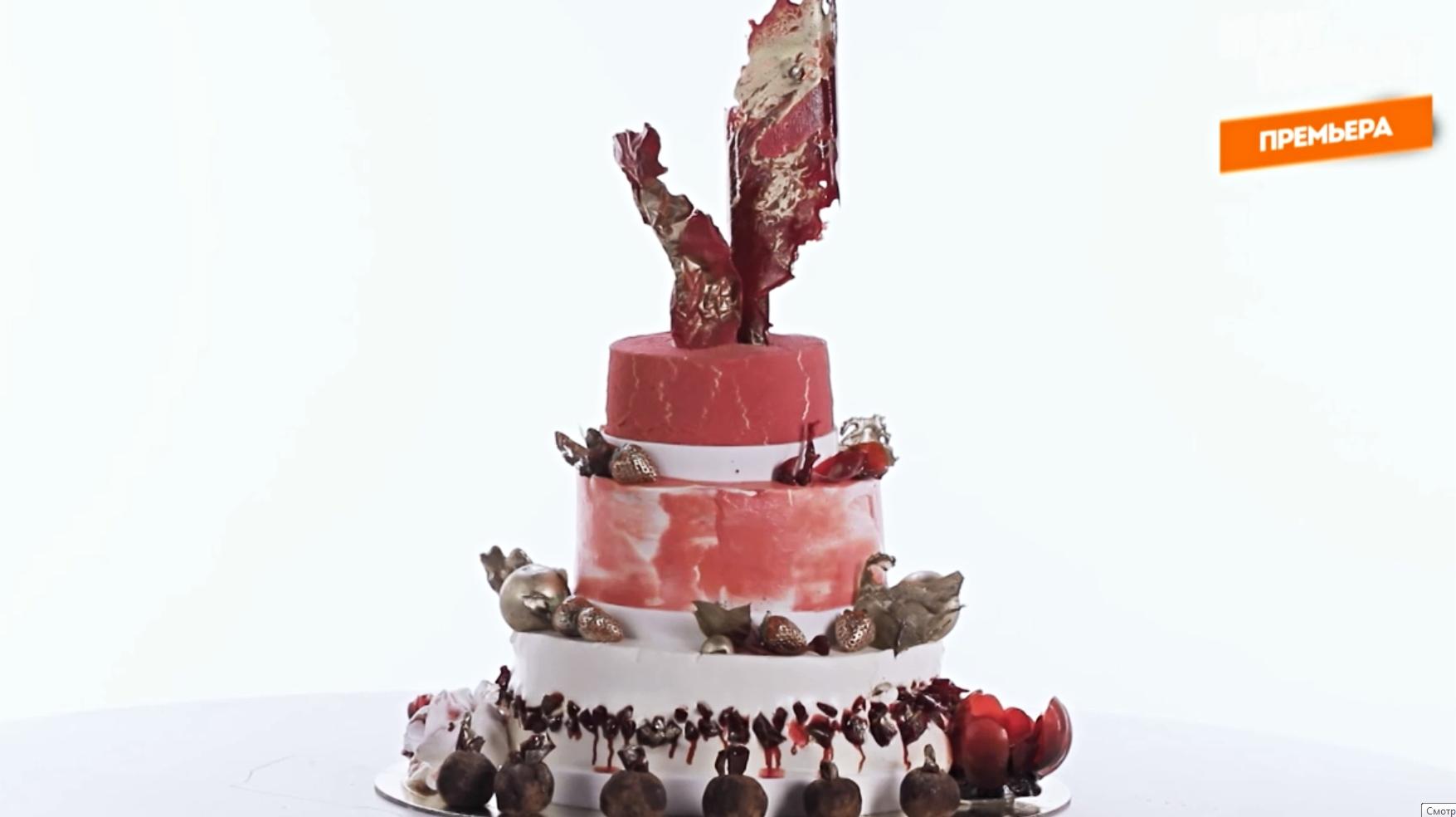 Посмотрите, какой торт сделала Анастасия в суперфинале. Как вам? Пишите в комментариях