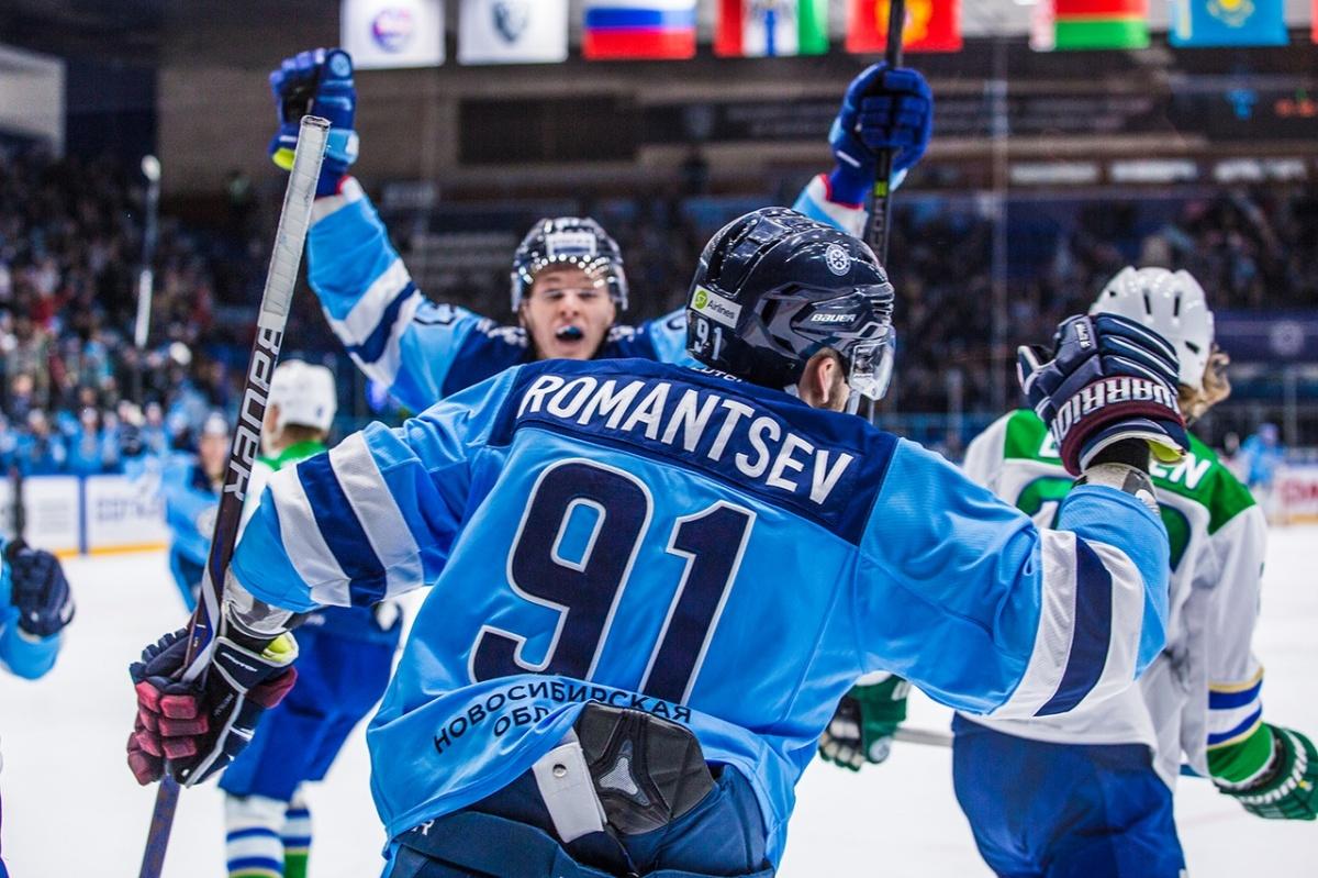 Игра проходила в новосибирском ледовом дворце спорта«Сибирь»