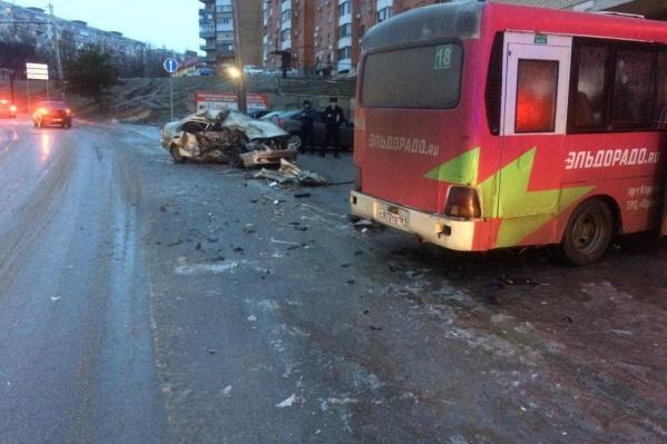 Авария унесла жизни двух человек