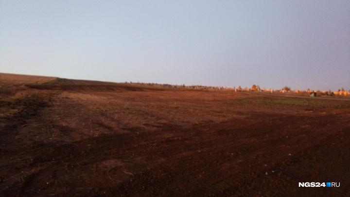 Началось расширение кладбища «Бадалык»