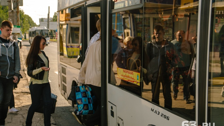 Интервал движения автобусов №50 в Самаре решили сократить до 10–15 минут