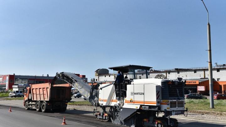 Общественники заставили дорожников переделывать проспект Авиаторов