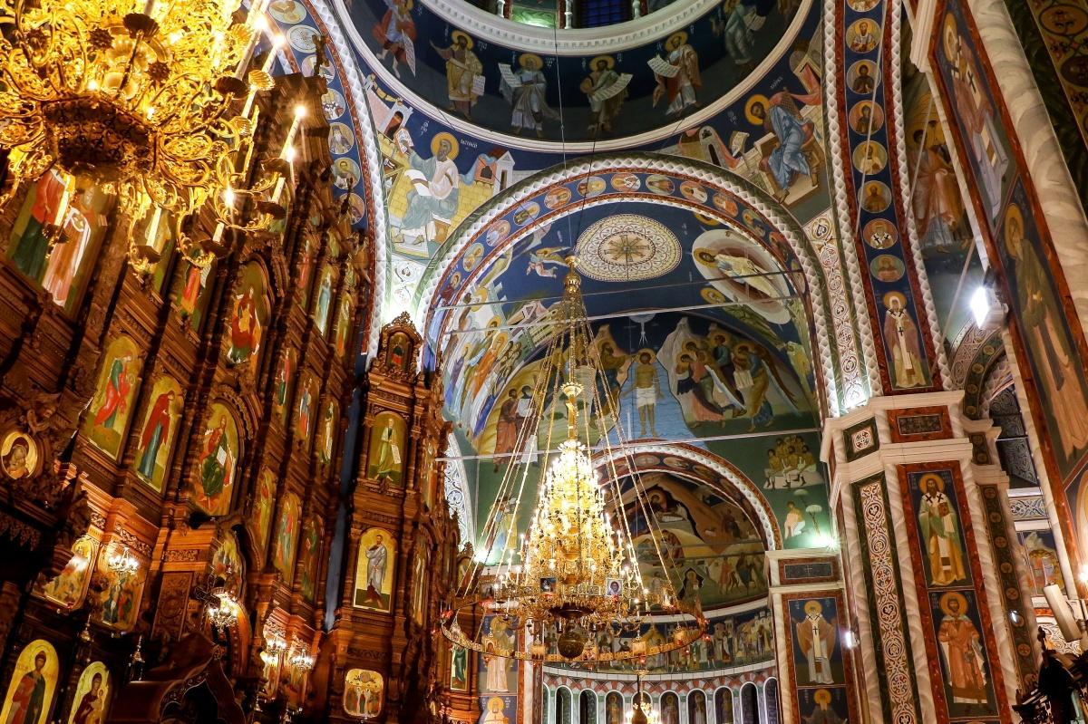 Богослужение в храме Александра Невского совершит митрополит Нижегородский и Арзамасский Георгий