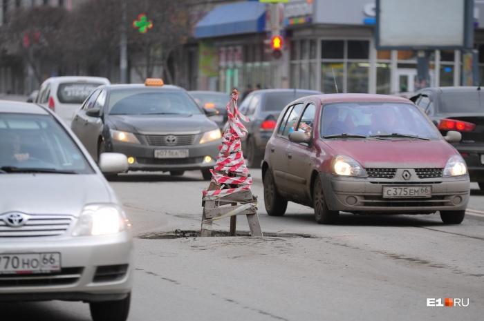 Снег растаял —и на дорогах вас ждут коварные ямы