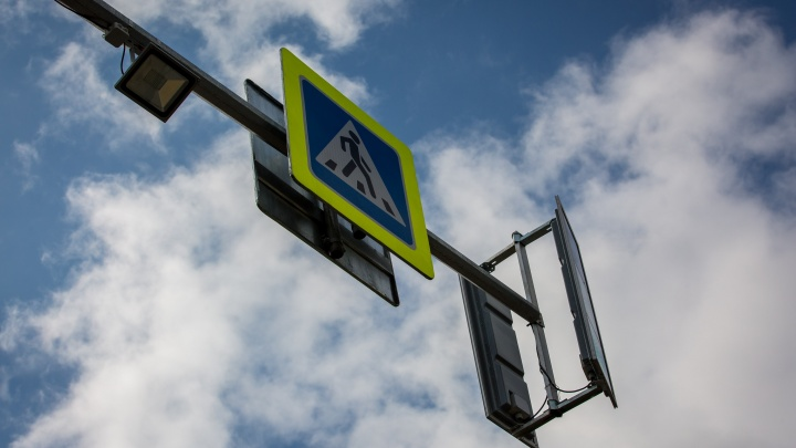 На перекрёстке в центре города погасли светофоры