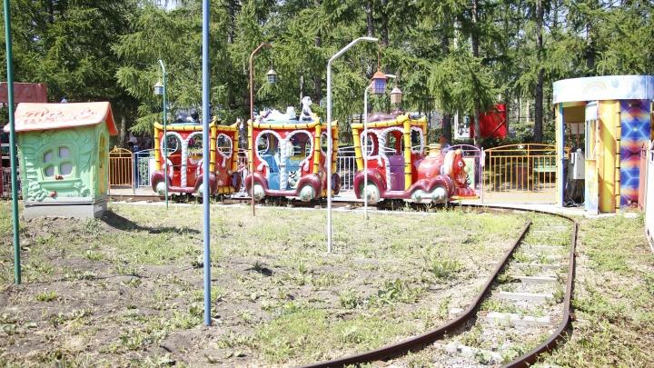 В омский парк привезли новый аттракцион за 6,7 миллиона рублей