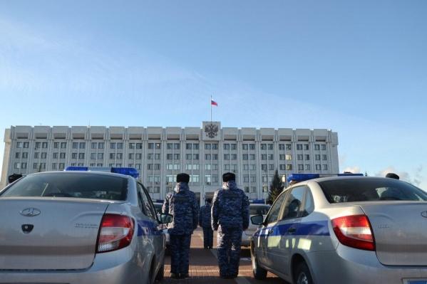 Торжественное вручение прошло на Самарской площади