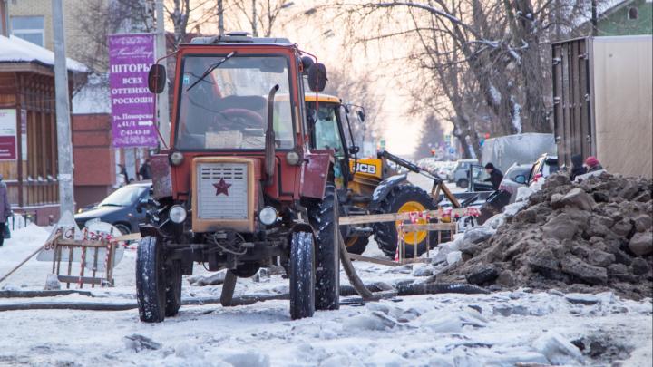 Город в ремонтах и отключениях: какие дома Архангельска останутся без электричества и воды 5 декабря