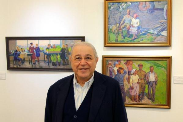 Известный российский артист и комик Евгений Петросян коллекционирует русскую классическую живопись ХIХ века