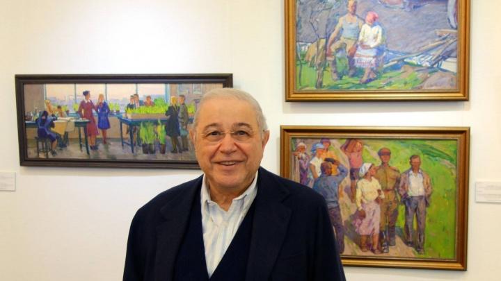 Новосибирец сводил Евгения Петросяна в художественный музей
