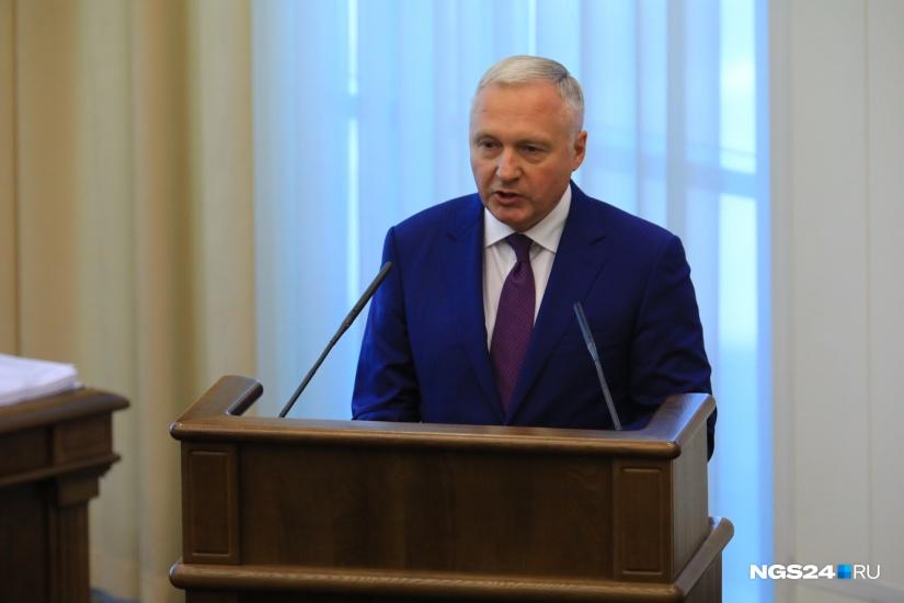 Юрий Лапшин критикует доклад Счетной палаты Фото: Артём Ленц