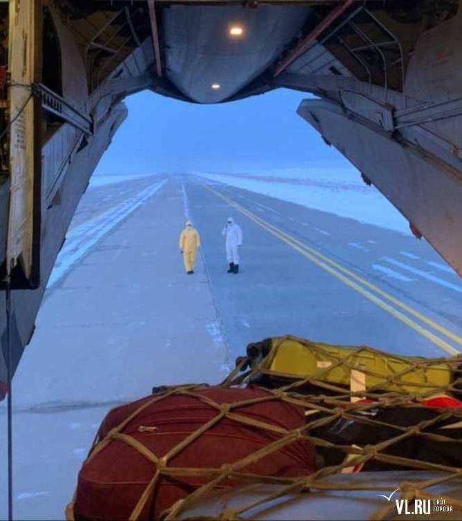 Крутой кадр, сделанный из военного самолета
