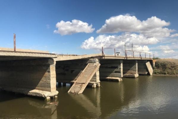 Работы по ремонту аварийного моста начнутся в 2020 году
