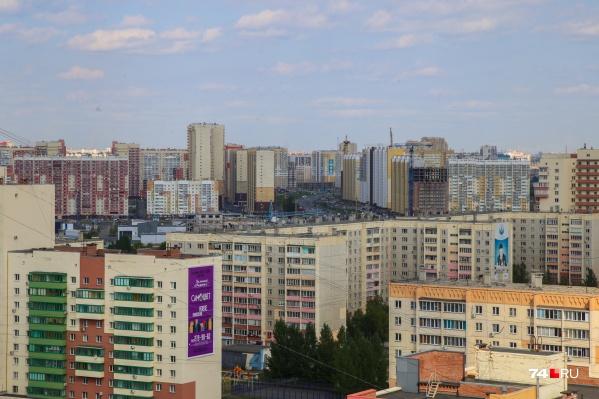 В сторону Северо-Запада Челябинск рос не один год