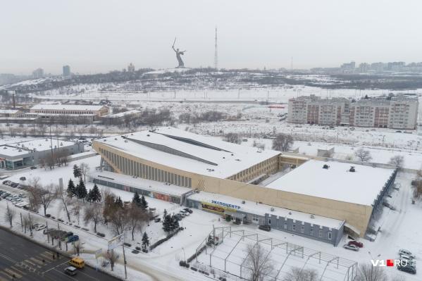 В Волгограде сегодня небольшой мороз-4 °С