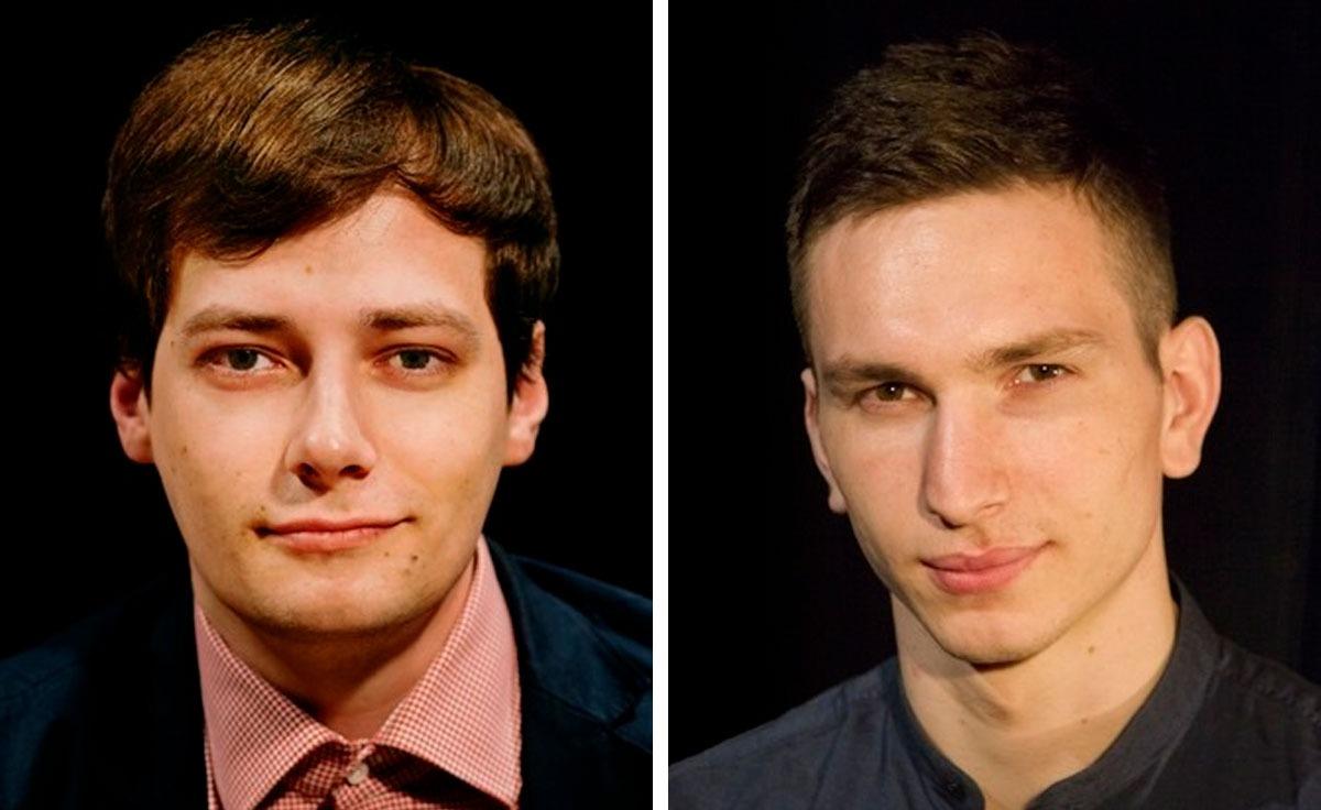 Тарас Поддубный на фото слева,Мурад Халимбеков — справа