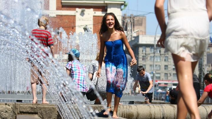 В Новосибирскую область идет жара до +32 градусов