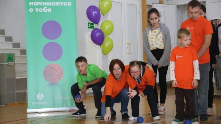 Фестиваль параспорта зарядил школьников на дружбу и инклюзивные занятия спортом