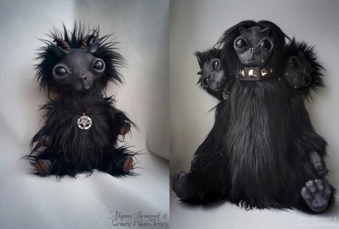 Малышка Бафомет и друзья создавались совместно с художницей Анной Вашест