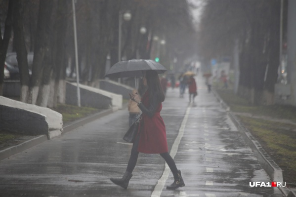 В республике продолжают лить осенние дожди