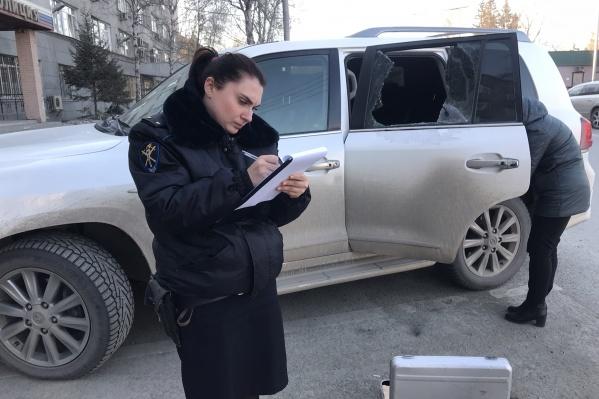 В полиции уже приняли заявление о краже