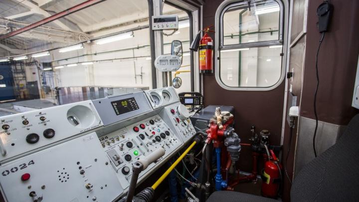 В метро показали новый состав после экономного ремонта