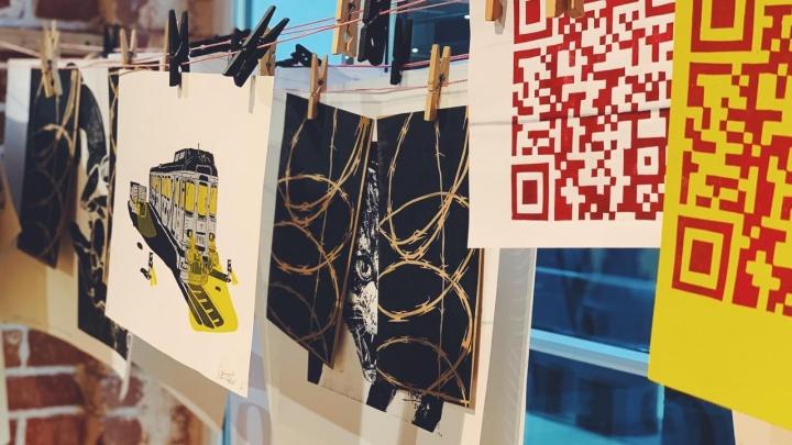 Один из экспонатов — часть забора: в Екатеринбурге откроется аутентичная выставка уличного искусства