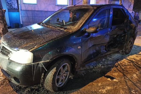 Пострадавшая девочка была пассажиром Renault