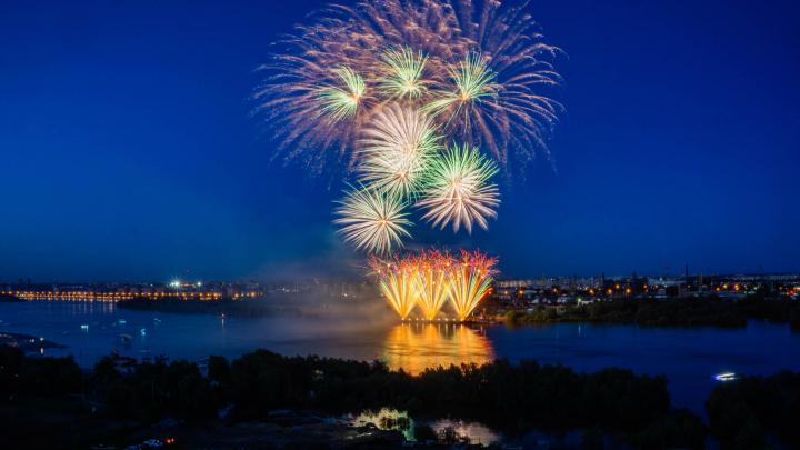 Фестиваль фейерверков проведут на День города