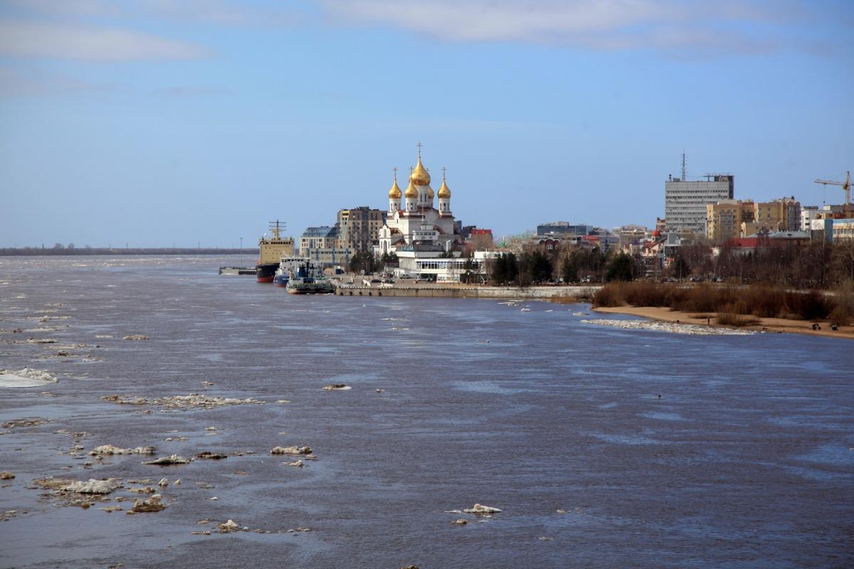 В Архангельской области завершается ледоход