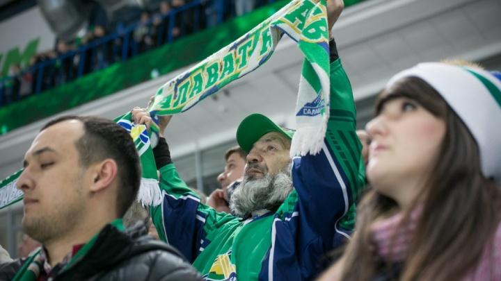 Уфимские хоккеисты одолели «Витязь»