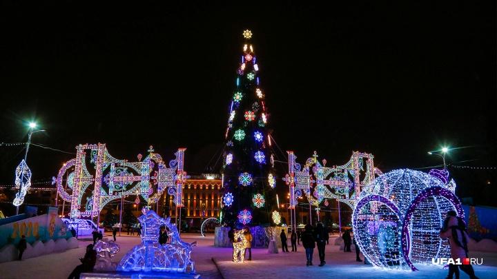 Дайте два: власти Уфы определились с еще одной площадкой для Новогоднего фейерверка